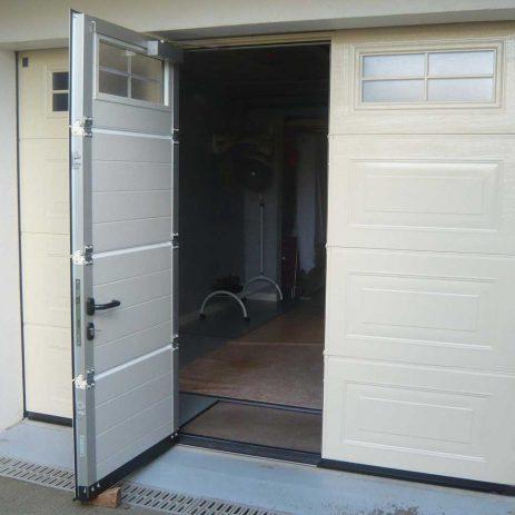 Pose et motorisation de portail porte de garage d ols - Motorisation porte de garage laterale ...